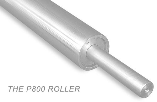 The P800 paper roller for paper feed machinery, manufactured by Precision Products