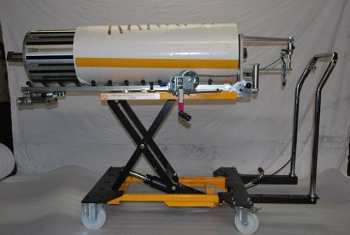 P2100  Shaft Trolley with Turntable