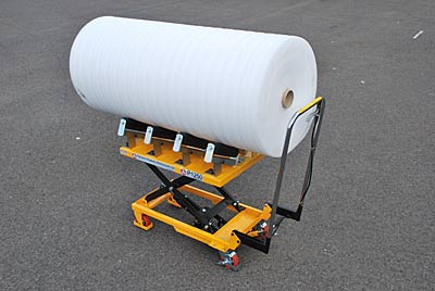 paper roll trolley, move/transport paper rolls in safety